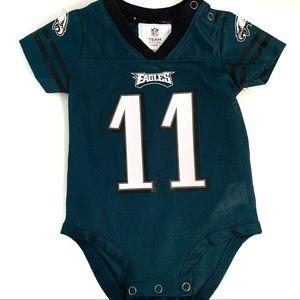 Philadelphia Eagle Wentz Baby Jersey
